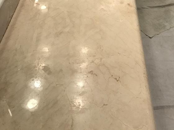 Marble Vanity Refinishing
