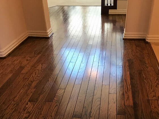 The Woodlands Wood Floor Cleaning
