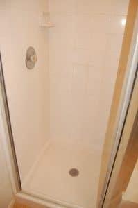 Shower after restoration.