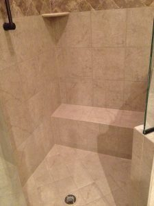 Shower clean and color seal